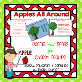 Apple Songs and Poems {Shared Reading}
