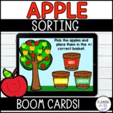 Apple Sorting Boom Cards for Back to School Distance Learning