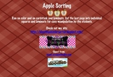 Apple Sorting Center Activity