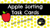 Apple Sorting Task Cards
