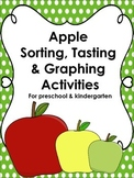 Apple Sorting, Tasting & Graphing Lesson Plans for Preschool & Kindergarten