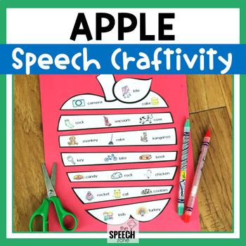 Fall Apple Speech Craft