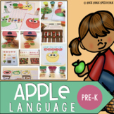 Apple Speech and Language Preschool Unit