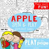 Apple Games - No Prep