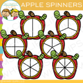 Apple Spinners Clip Art
