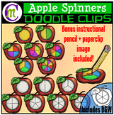 Apple Spinners Clipart