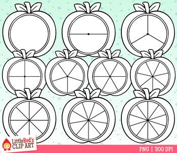 Apple Spinners Fall Clip Art