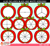 Apple Spinners Fall Clip Art