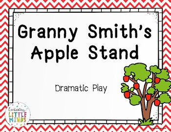 Apple Stand Dramatic Play