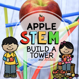 Apple Tower Autumn STEM Activity with TpT Digital Distance Learning
