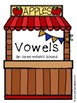 Apple Stand Vowels and Consonants Sorting Center (Orton-Gi