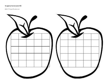 Apple Sticker Chart