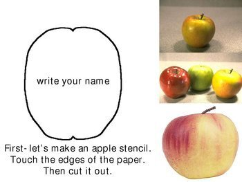 Apple Still Life Art Project for Elementary Students