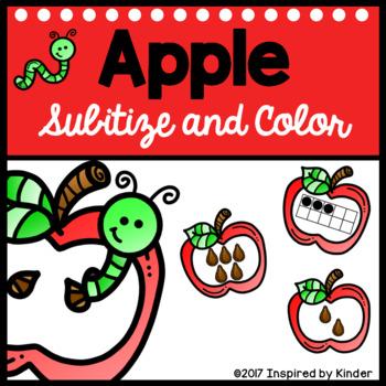 Apple Subitizing Game