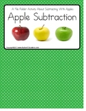 Apple Subtraction Visual Word Problems {Autism/Kindergarten/Special Education}