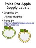 Apple Supply Labels