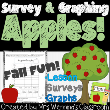 Apple Survey and Graphing Lesson!