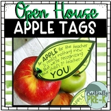 Apple Tags: Open House Gift for Parents