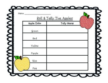 Apple Tally Mark & Graphing Center
