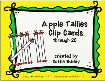 Apple Tallies through 20 Clip Cards