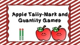 Apple Tally-Mark and Quantity Math Games