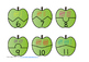 Apple Tally Marks Counting Puzzles