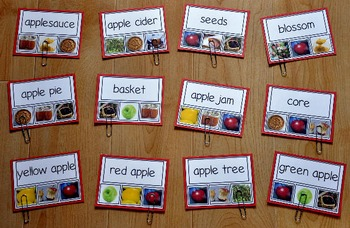 Apple Task Cards