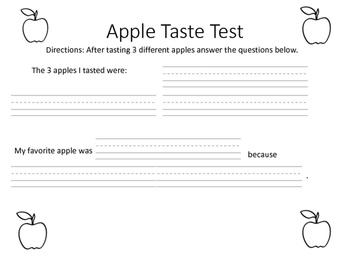 Apple Taste Test