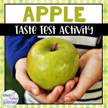 Apple Taste Test Activity