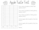 Apple Taste Test {Freebie!}