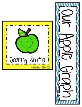 Apple Taste Test Graphing!