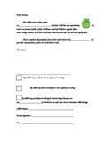 Apple Taste Test Permission Form