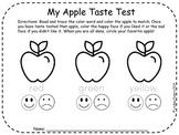 Apple Taste Test and Apple Treats Taste Test