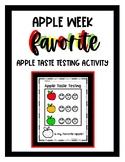 Apple Taste Testing
