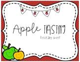 Apple Tasting