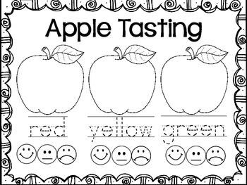Apple Tasting Book