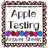 Apple Tasting Sheets