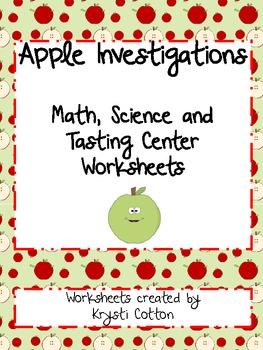 Apple Tasting and Investigation!