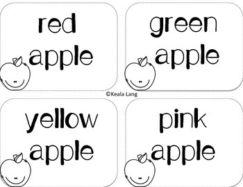Apple Tasting and Opinion Writing Activity
