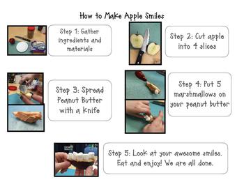 Apple Teeth Cooking Activity