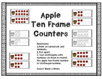 Apple Ten Frame