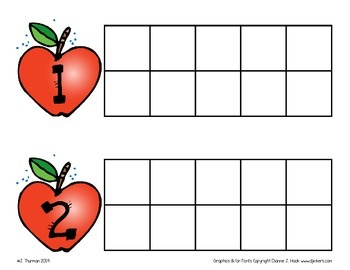 Apple Ten-Frame Math Center