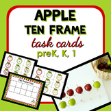 Apple Ten Frame Math Task Cards