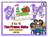 Apple - Ten Frame Mats 0 to 10 & Counter Cards