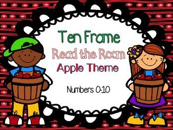 Apple Ten Frame Read the Room