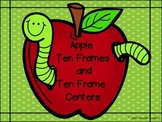 Apple Ten Frames and Ten Frames Centers