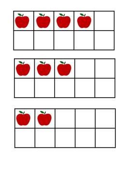 Apple Tens-Frame