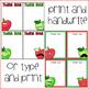 Back to School Apple Thank You Notes {Editable}