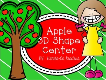 Apple Theme 3D Shape Center