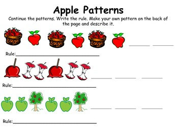 Apple Thematic Unit for Common Core Standards